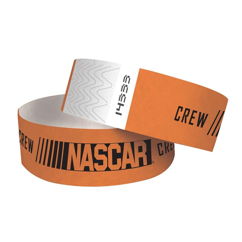 "1"" Tyvek® Wristband - One Color Imprint"