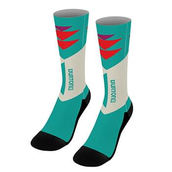 "18"" Dye Sublimated Socks (Pair)"