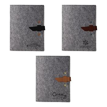 Pinyon Recycled Felt Mini Padfolio