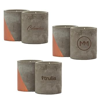 Serenity 12 oz. Concrete Candle
