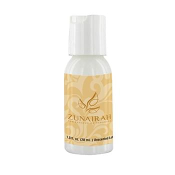 1 oz Lotion in Clear Round Bottle