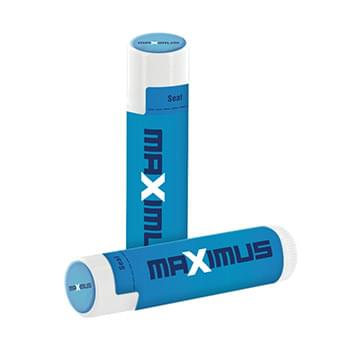 SPF 15 Lip Balm in White Tube and Full Color Dome Lid