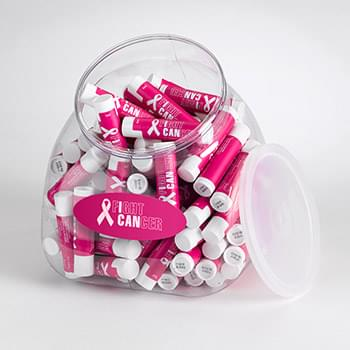 94 oz. Lip Balm Tub Display (Holds Approximately 100 Standard Tube Lip Balms - Not Included)