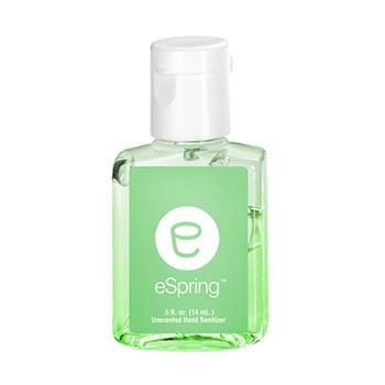 0.5 oz Tinted Sanitizer in Clear Bottle